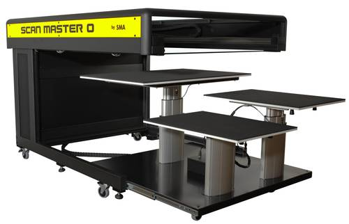 A0 Book Scanner for Large Books