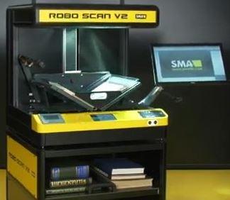 Automatic Book Scanner SMA Roboscan V2